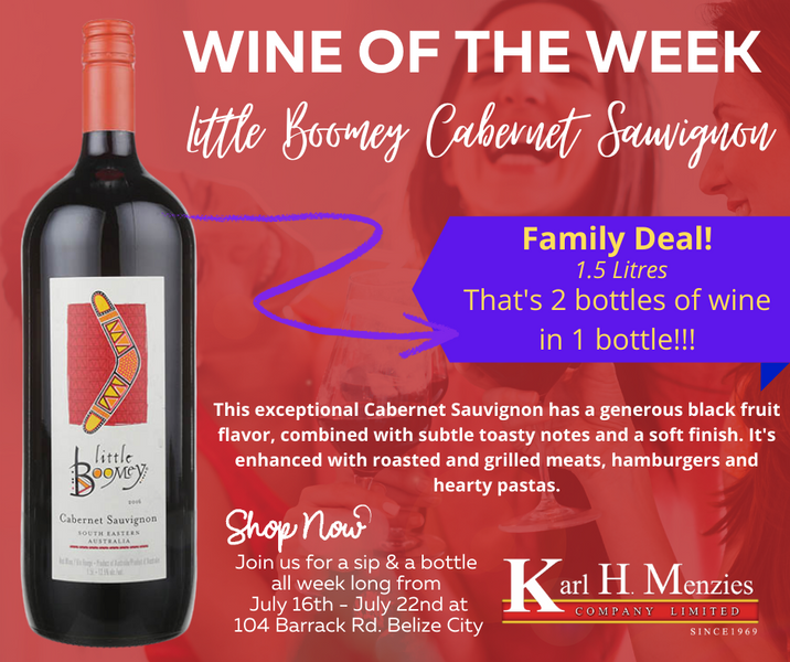Wine of the Week: Little Boomey Cabernet Sauvignon