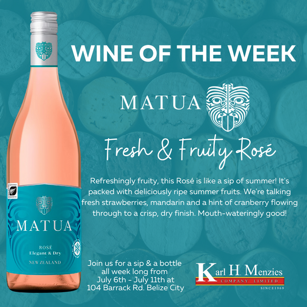 Wine of The Week - Matua Rosé