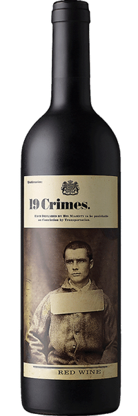 19 Crimes Red Wine 2016 (Australia) 750ml