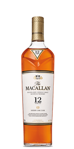 The Macallan Sherry Oak 12-year-old Single Malt Whisky (U.K.) 750ml