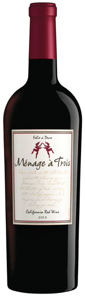 Menage A Trois Red Blend 2017 (California, US) 750ml