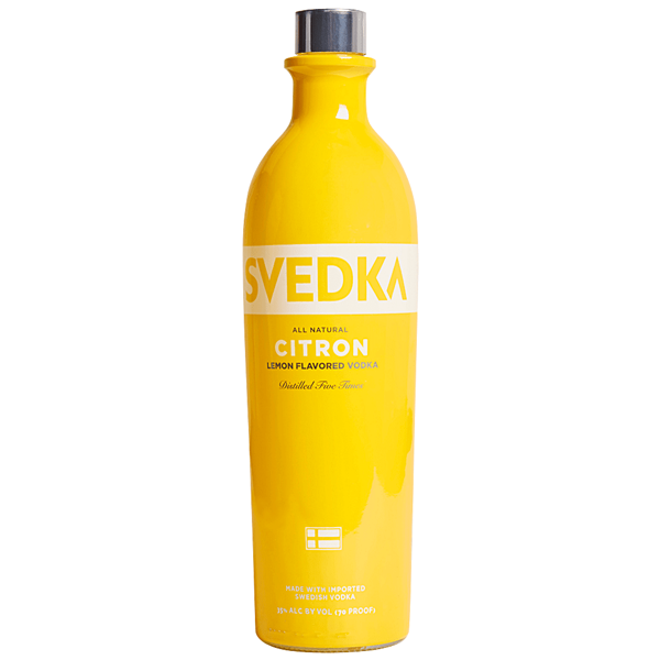 Svedka Citron (Sweden) 750ml