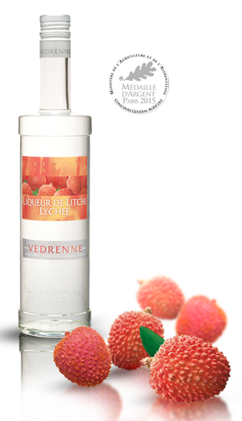 Vedrenne Liqueur Litchi (France) 700ml