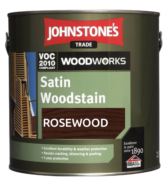 Johnstone's Redwood Satin Woodstain