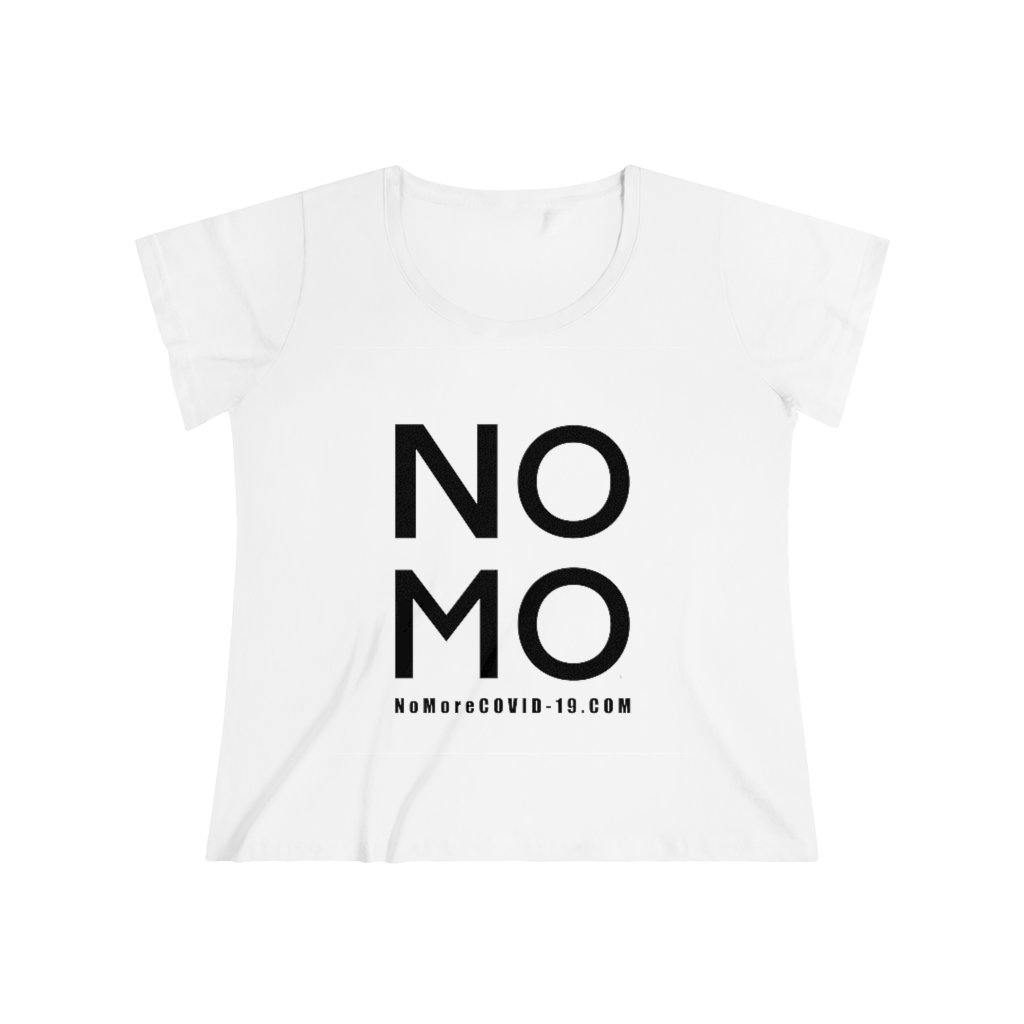 "Black ""NO MO COVID"" On Hot Pink 