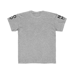 "Open image in slideshow, Heather Grey ""NOMO"" LOGO Sleeves 