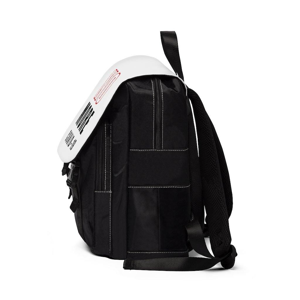 Red & Black |  Unisex Casual Shoulder Backpack