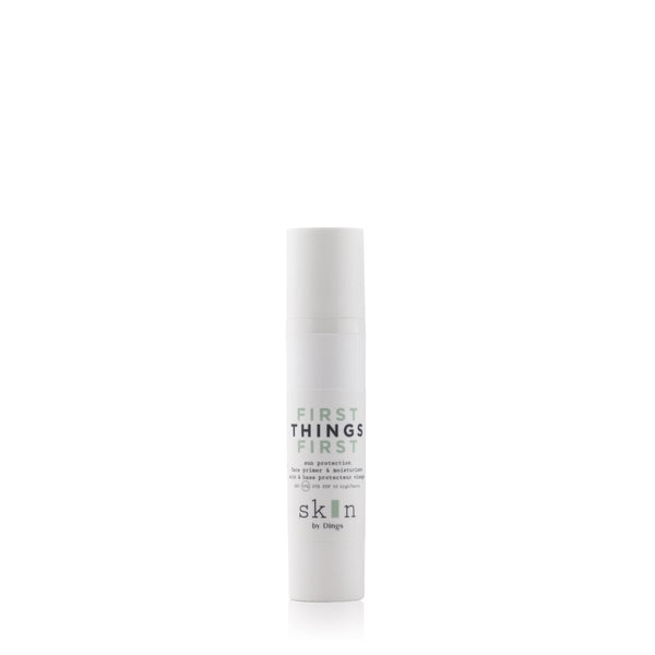 FIRST THINGS FIRST - FACE PRIMER & MOISTURISER SPF 30 - Stylies Webshop Skin by Dings