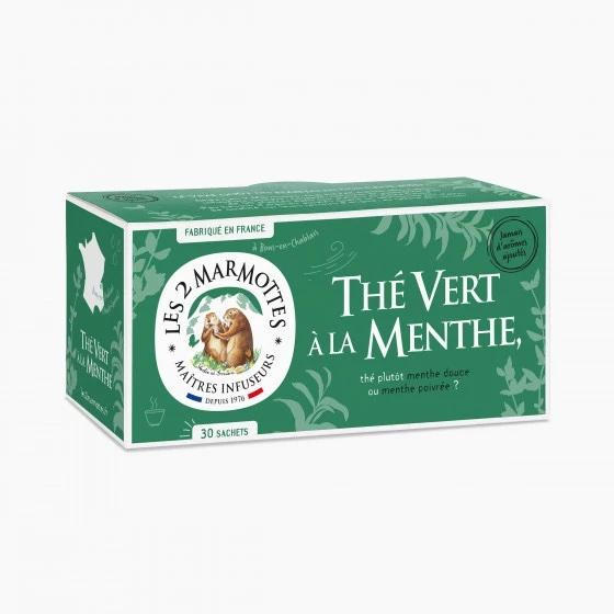 Les 2 Marmottes Groene Thee Munt - Stylies Webshop Les 2 Marmottes