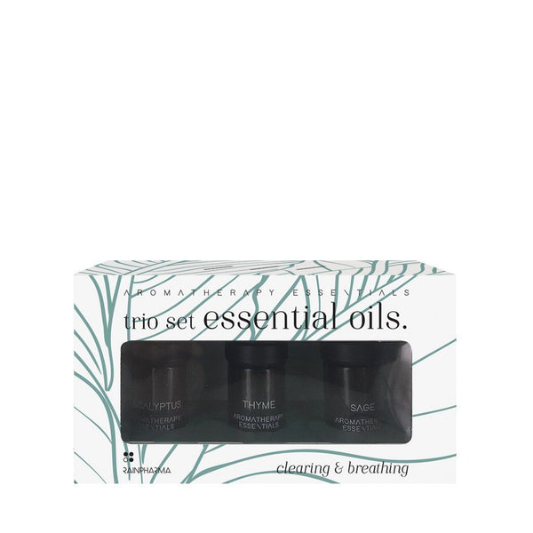 Trio Essential Oils - Clearing & Breathing - Stylies Webshop RainPharma