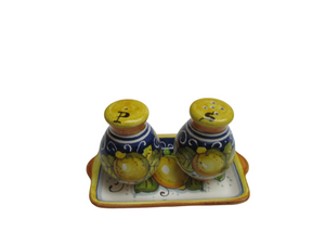 ceramic salt and pepper shakers