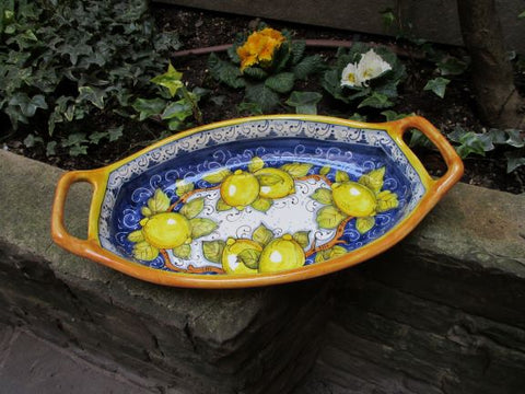 ceramic bowl with handle