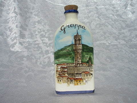 ceramic bottle decor
