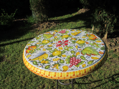 ceramic round table top