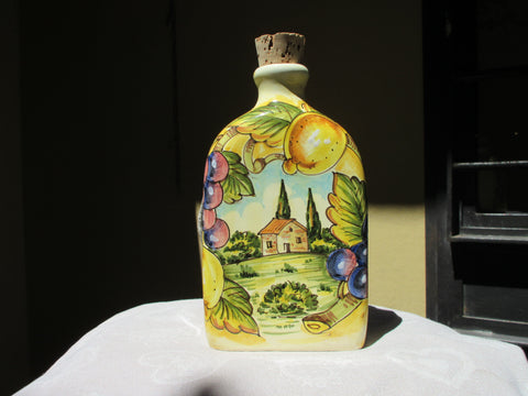 ceramic bottle for liquor