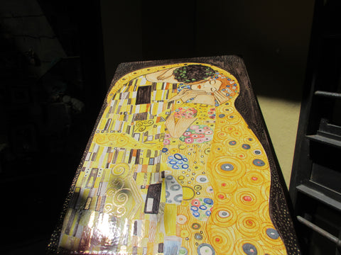 Ceramic Klimt tile