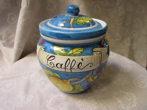 ceramic container jar set