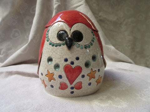 ceramic owl decor