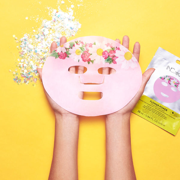 INC.redible Flower Power Mask