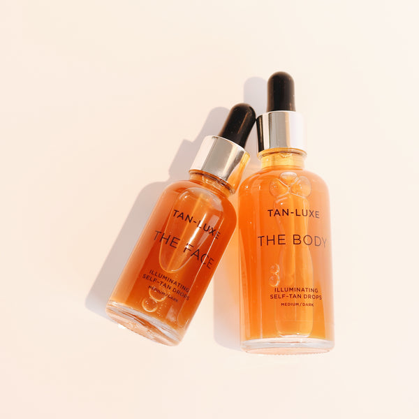 Tan-Luxe The Face 20ml & The Body 30ml Light/Medium (Duo Pack)