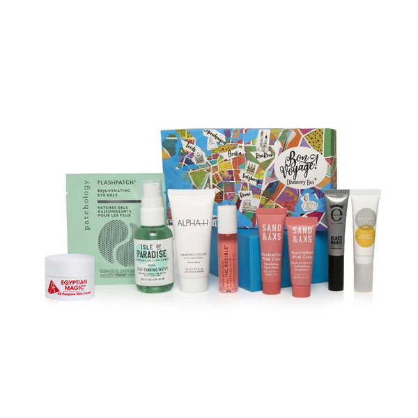 Bon Voyage Discovery Box - the first duty-free beauty box