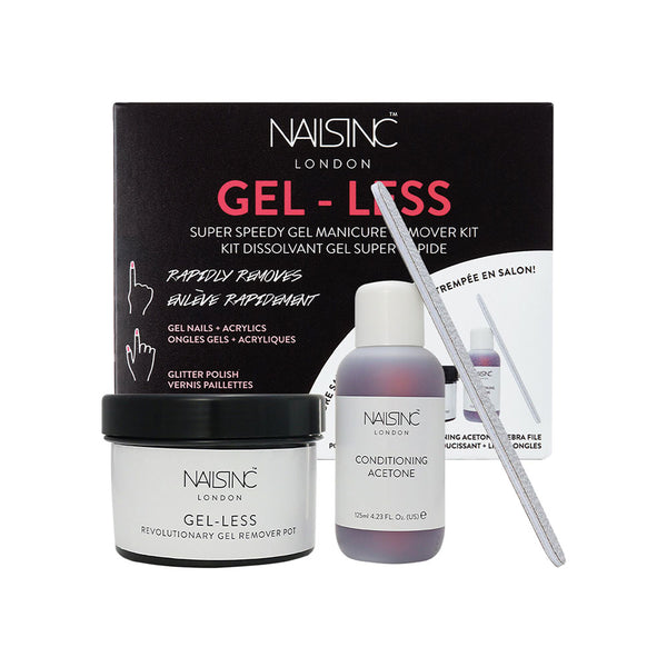 NAILSINC Gel-Less Home Gel Manicure Remover Kit