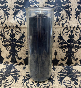 7-Day Pullout Candle Black