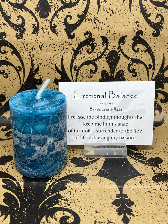 Blessed Herbal Power Votive - Emotional Balance