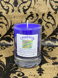 Crystal Journey Candle - Creativity