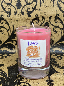 Crystal Journey Candle - Love