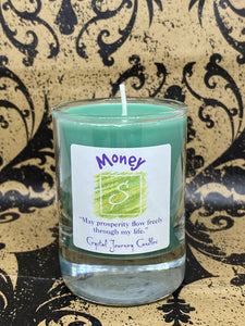 Crystal Journey Candle - Money