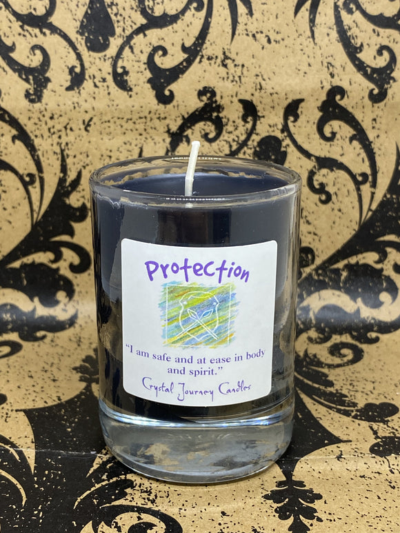 Crystal Journey Candle - Protection