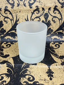Frosted Glass Votive Holder