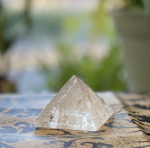 Pyramid Clear Quartz