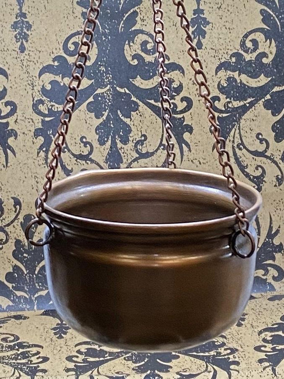 Hanging Copper Cauldron