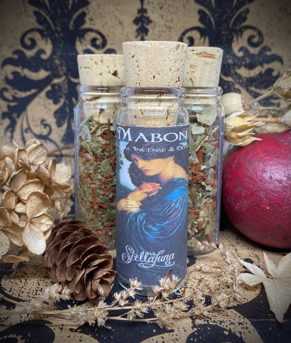 Mabon Herbal Incense & Offering Blend