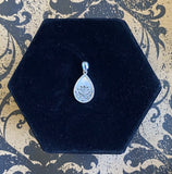 Pendant Sterling Silver Lotus with Mother of Pearl