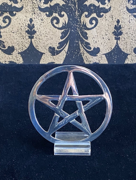 Silver Altar Pentacle