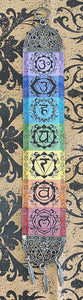 Hanging Fabric Tapestry Chakras