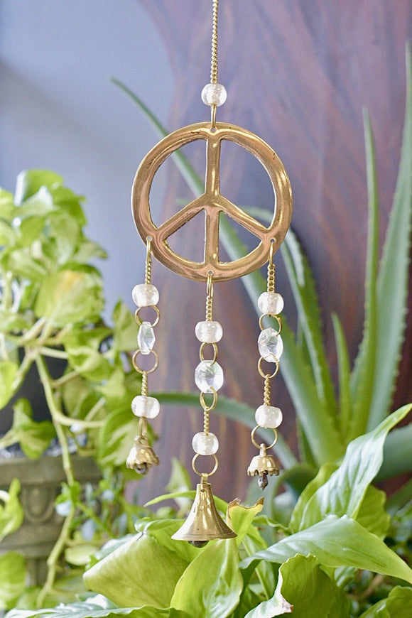 Windchime Peace Sign