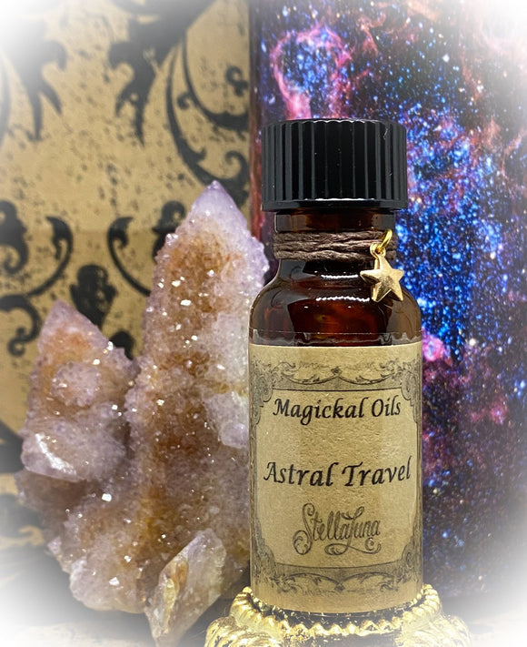 Astral Travel Magickal Oil