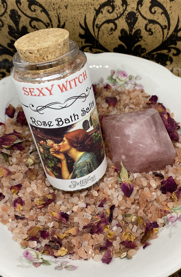 Sexy Witch Rose Bath Salts