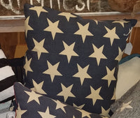Pillows, Red, White and Blue