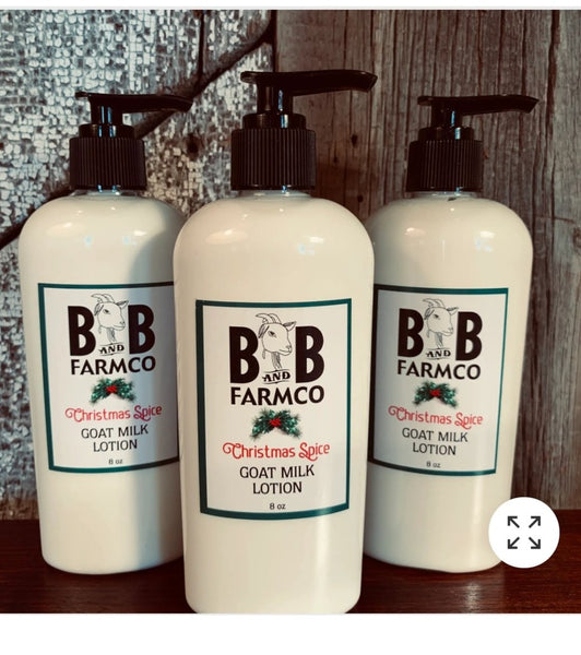 B AND B Goats Milk Lotion/Personal care