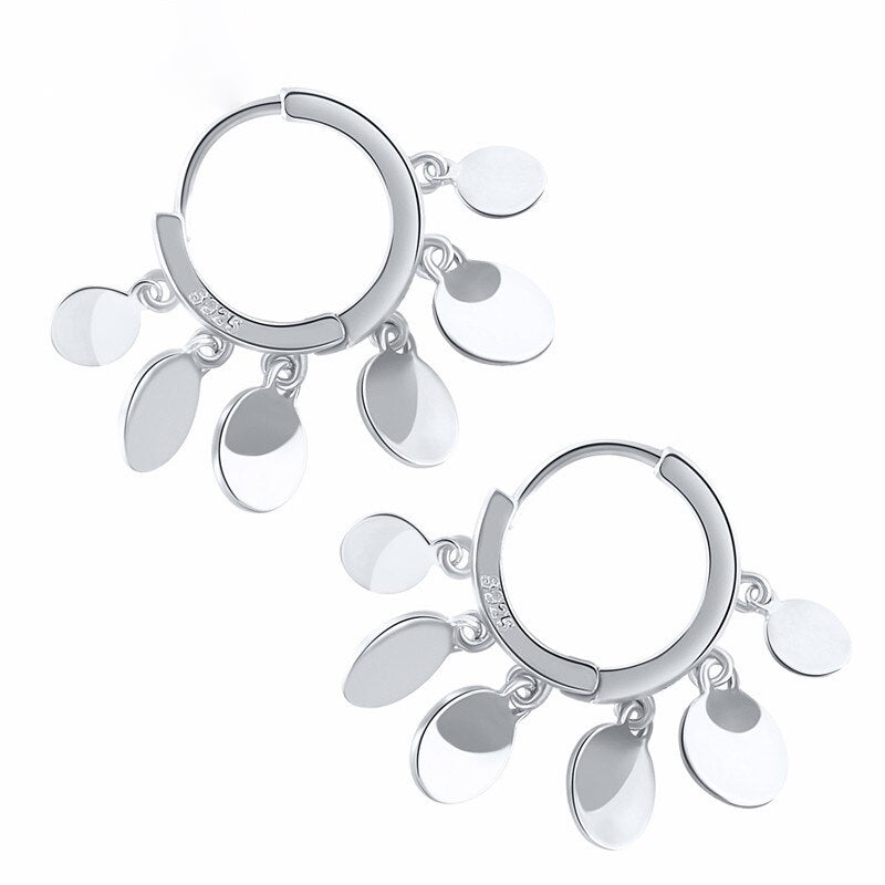 Tiny Hoops Reagan aus 925 Sterling Silber