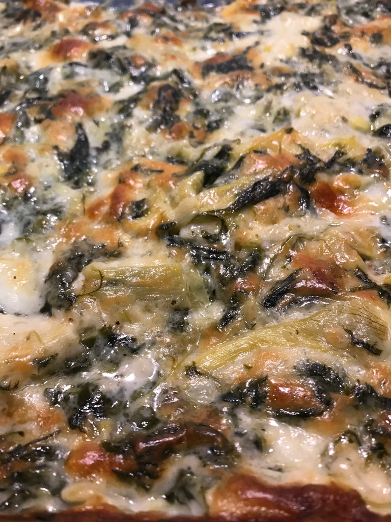 Keto Recipe with Chicken - Spinach Artichoke Chicken