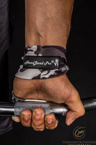 HandBand Pro® - the first and only fitness grip to PREVENT blisters and rips with total hand freedom.