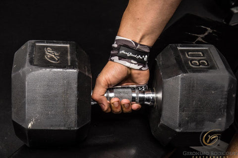 HandBand Pro® - the first and only crossfit glove to PREVENT blisters and rips with total hand freedom.
