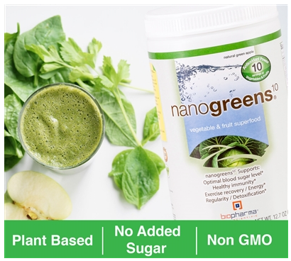 nanogreens available at handbandpro