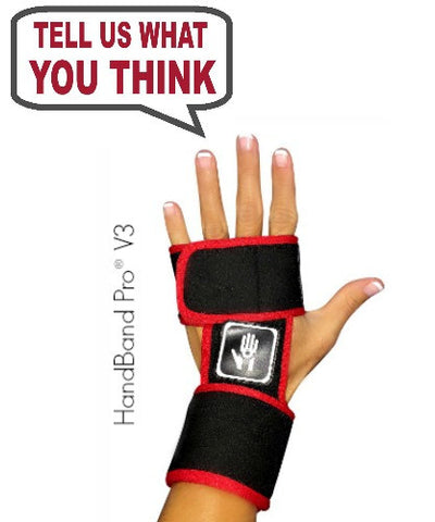 Write a review for HandBand Pro® V3 with Wrist Support